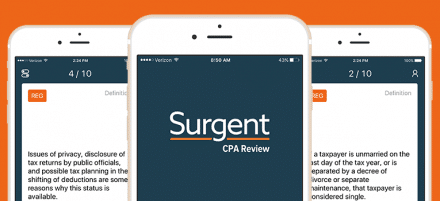 surgent vs competition CPA review