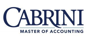 Cabrini University Masters of Accounting Logo